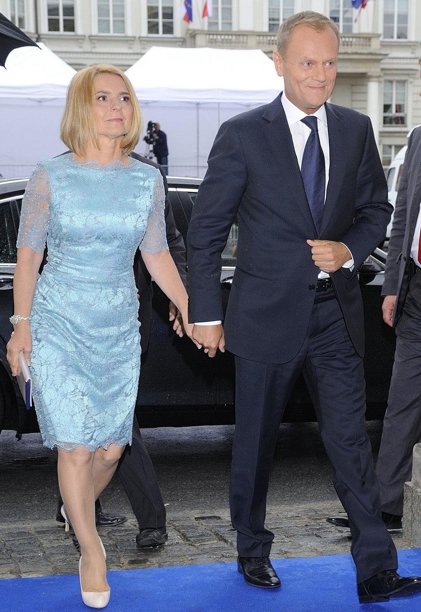 Donald i Małgorzata Tuskowie