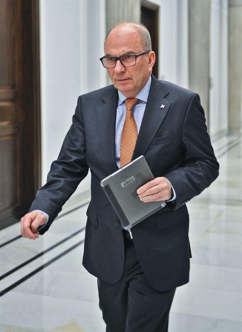 Jerzy Meysztowicz z Nowoczesnej.