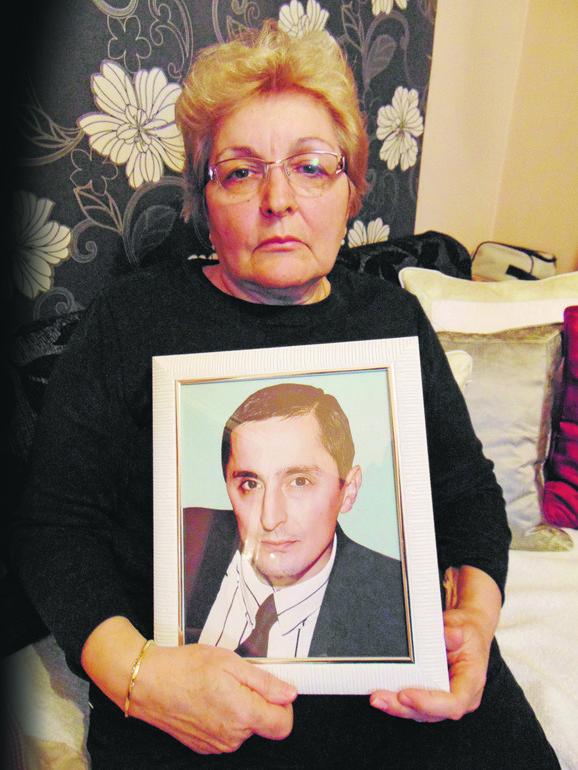 Ljiljana Miljković majka preminulog Bratislava Milojevića