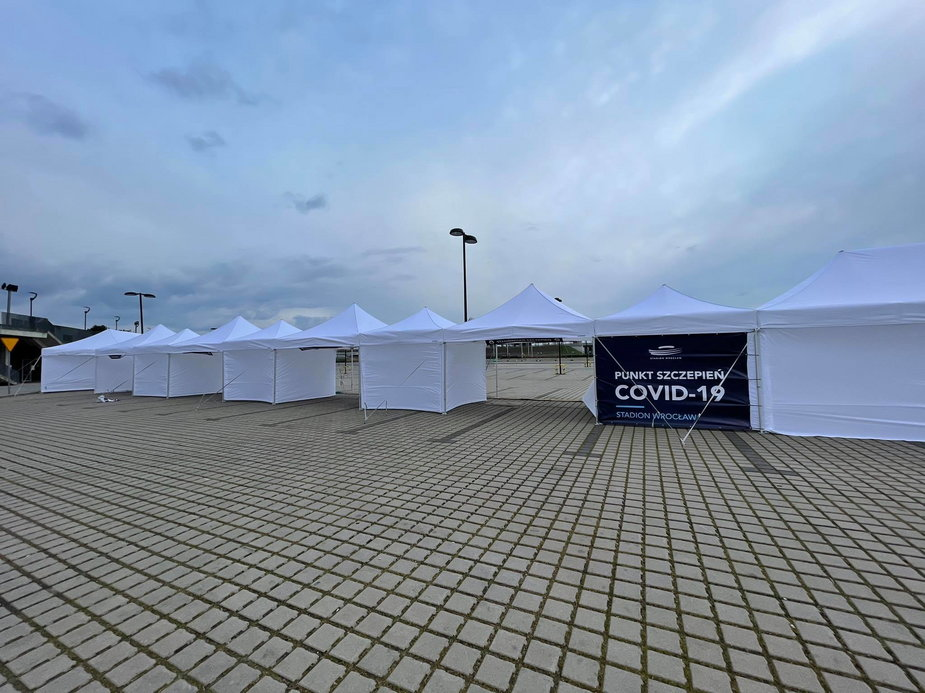 Punkt szczepień na Stadionie Wrocław