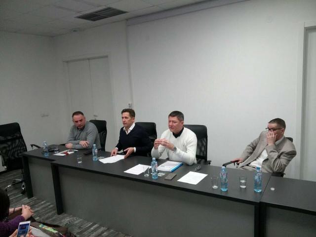 Čelnici Atletskog saveza Srbije