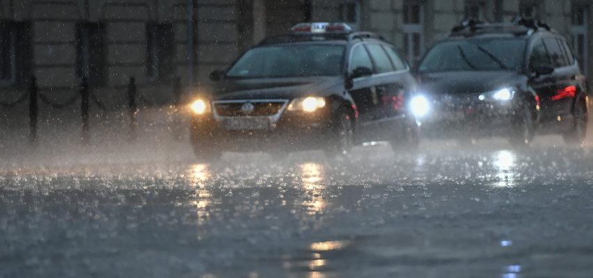 Ulice jak rzeki, zalane posesje. Ponad 500 interwencji straży pożarnej