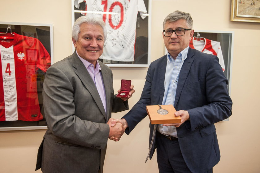Henryk Kasperczak i Janusz Kozioł