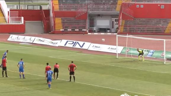 Detalj sa utakmice FK Kabel, FK Metalac