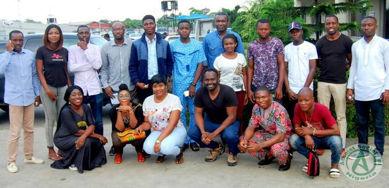 Members of the Atheist Society of Nigeria at a recent gathering