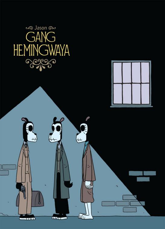 """Gang Hemingwaya"" - scenariusz, ilustracje: Jason (wyd. Taurus Media)"