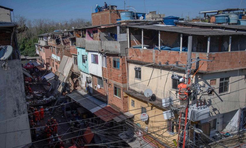 Katastrofa budowlana w Brazylii