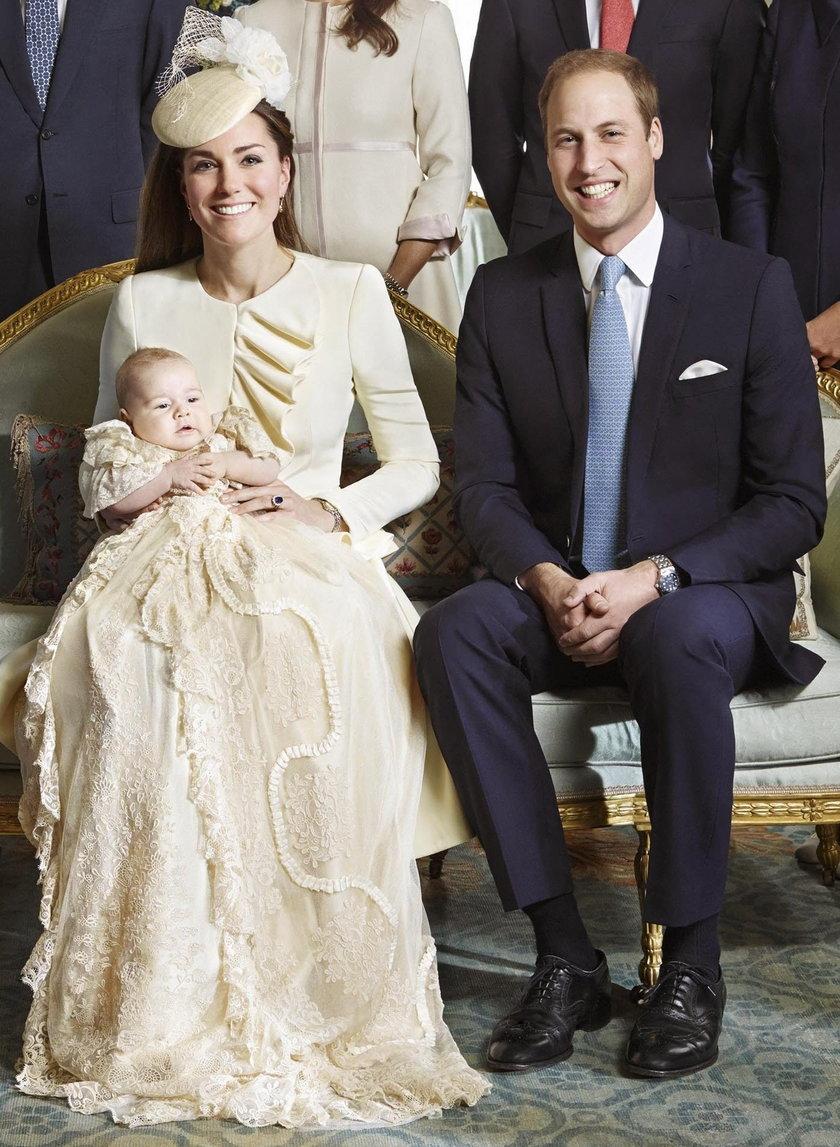 Księżna Kate na chrzcie