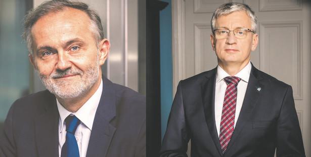 Wojciech Szczurek i Jacek Jaśkowiak