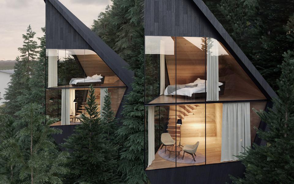 d720d8967 Poznajcie projekt Tree House we włoskich Dolomitach - Noizz