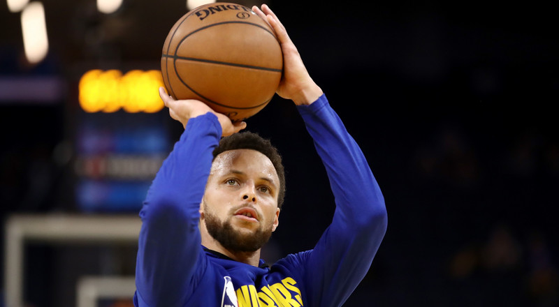 Golden State Warrior Steph Curry Just Showed Off Some Advanced Basketball Drills You Can Try at Home