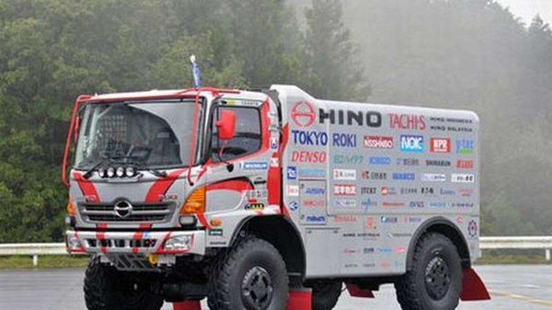 Ciężarówka Hino na Dakar 2012
