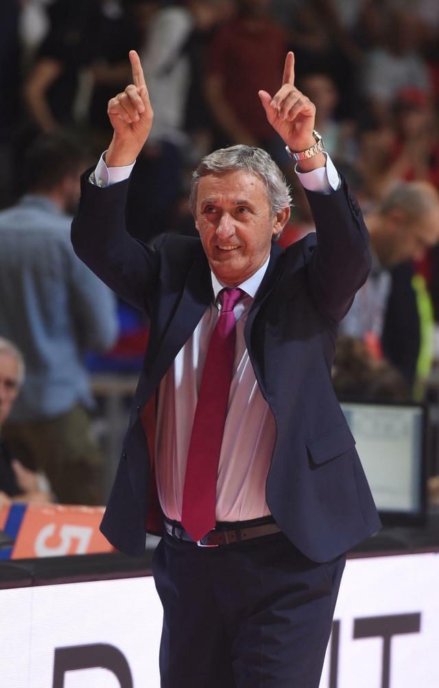 Svetislav Pešić, bivši trener Zvezde, a sada KK Barselona