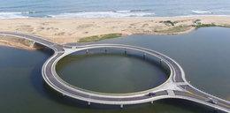 Dlaczego ten most jest okrągły?