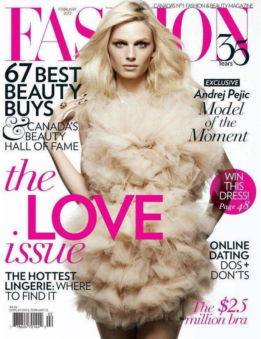 Andrej Pejic Fashion luty 2012