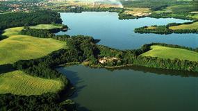 Szlak Pięciu Jezior na Pojezierzu Mrągowskim na Mazurach