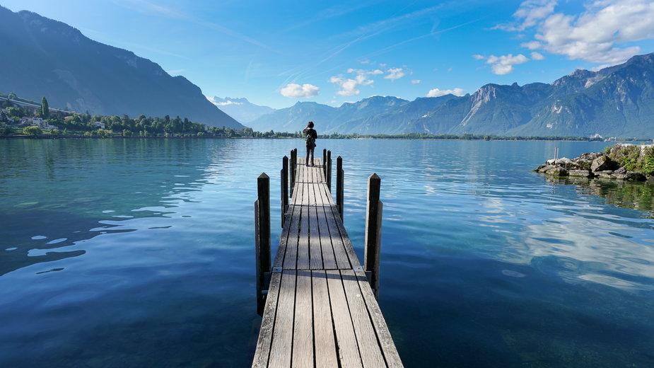 Jezioro Genewskie, Szwajcaria