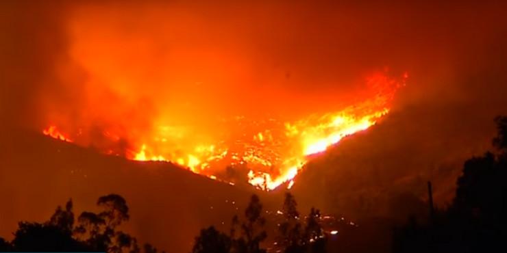 Požar u Čileu