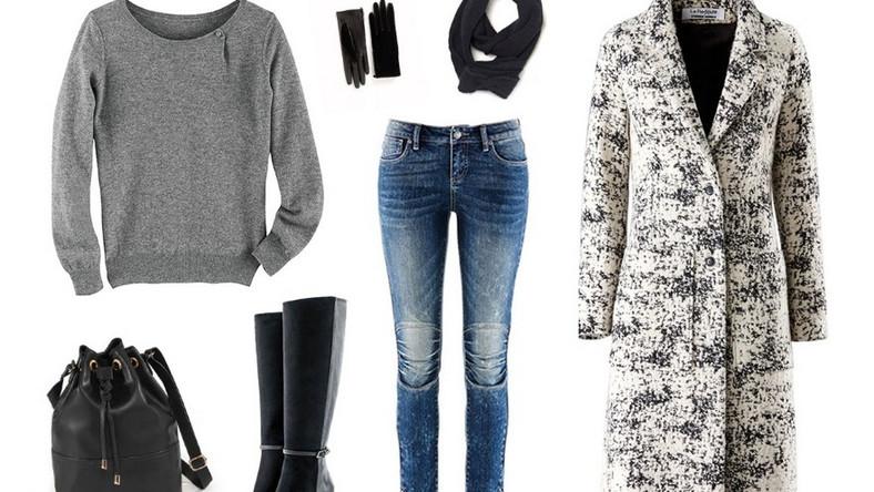 Szary to idealny zimowy kolor, który odnajdzie się w każdej sytuacji i będzie pasował do każdej stylizacji. Na sportowo, elegancko, do pracy, szkoły, czy na spotkanie ze znajomymi. Warto postawić na basic, który dopasujesz zarówno do eleganckiej spódnicy, jak i wytartych jeansów. Całość możesz urozmaicić długim, wełnianym płaszczem, ciepłymi kozakami i dodatkami w miejskim stylu.