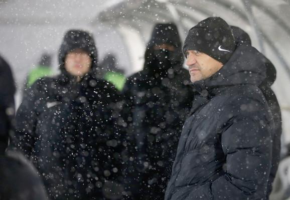 Zoran Mirković na meču sa Mačvom