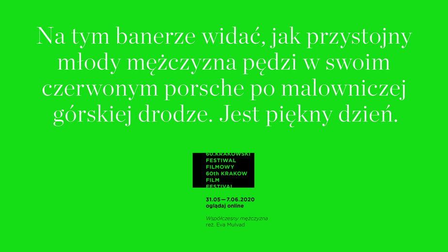 Krakowski Festiwal Filmowy 2020