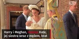 Dlaczego nie było królowej na chrzcie małego księcia Louisa?