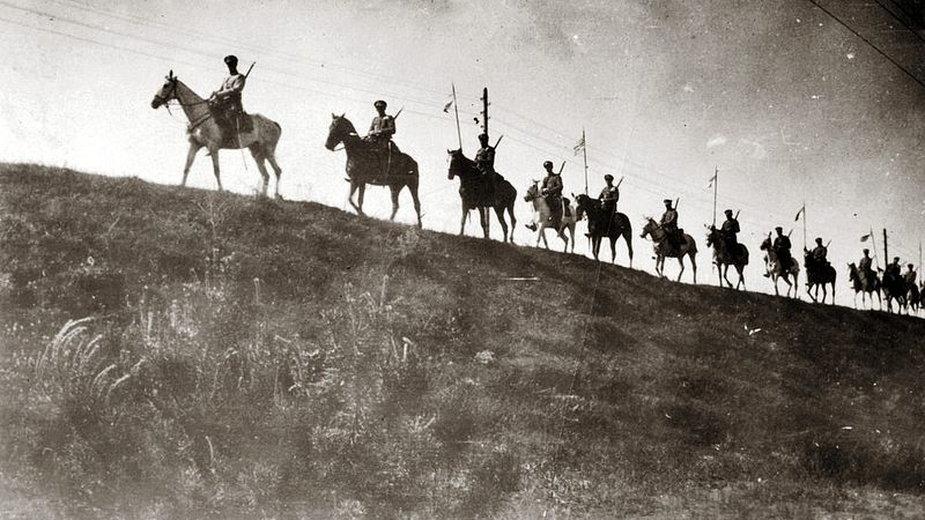 Kawaleria polska, bitwa nad Niemnem 1920 - domena publiczna