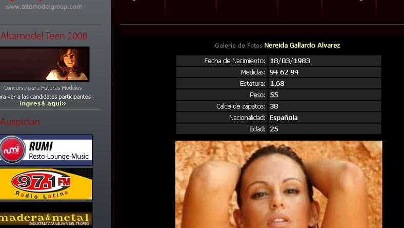 Nowa wybranka piłkarza to modelka Nereida Gallardo Alvarez