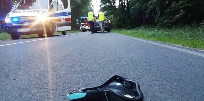 Tragiczny wypadek pod Lesznem. Zginęła 13-letnia rowerzystka