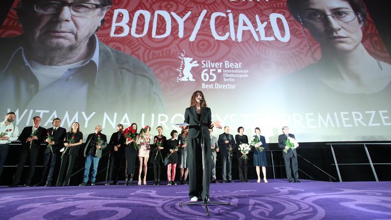 WARSZAWA KINO FILM BODY/CIAŁO PREMIERA (Małgorzata Szumowska)