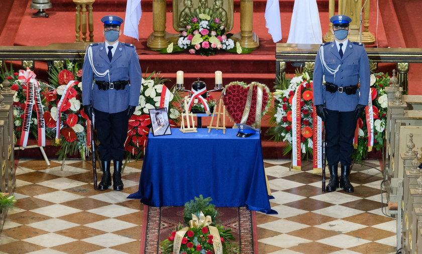 Pogrzeb policjanta Michała Kędzierskiego († 43l.).