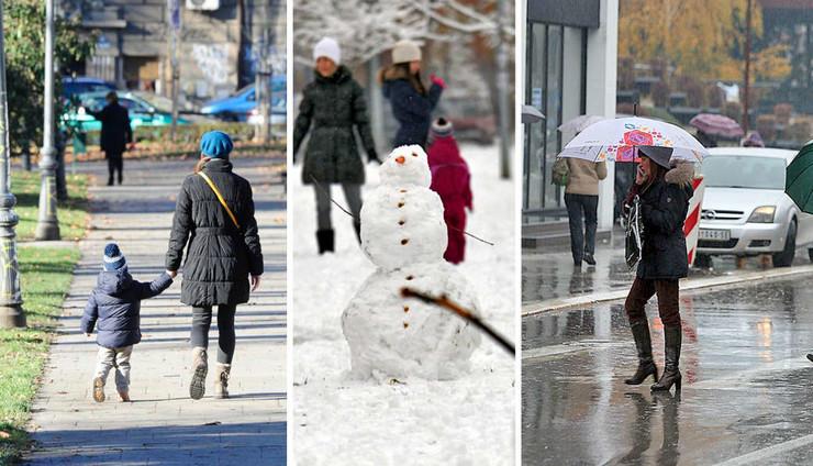 lepo vreme sneg kiša kombo pokrivalica foto RAS Srbija