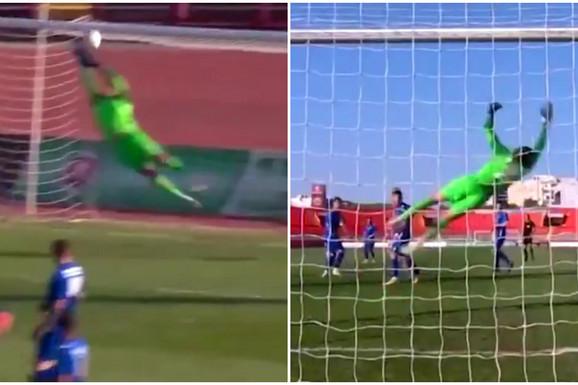 A zamislite da je neki naš dao ovakav gol na EURO 2020, pa slavilo bi se satima! Ovo je najbolji pogodak Superlige Srbije u sezoni 2020/2021! /VIDEO/