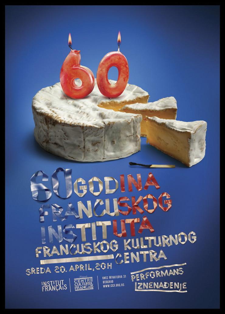 60 rođendan Francuski institut sutra slavi 60. rođendan 60 rođendan