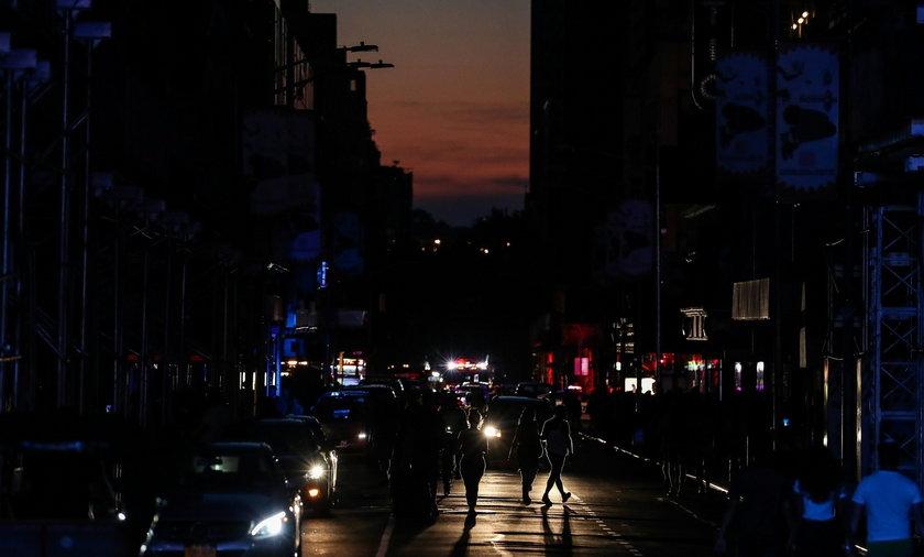 Awaria zasilania w Nowym Jorku. Manhattan utonął w ciemnościach
