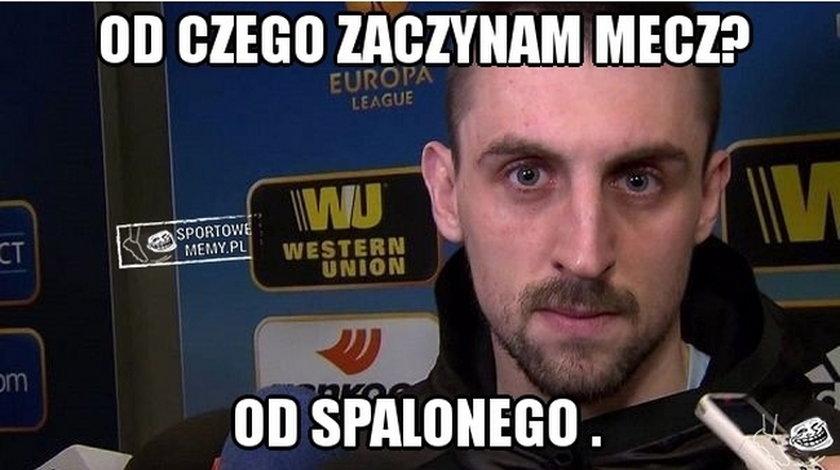 Memy po meczu Legia - Napoli. Galeria
