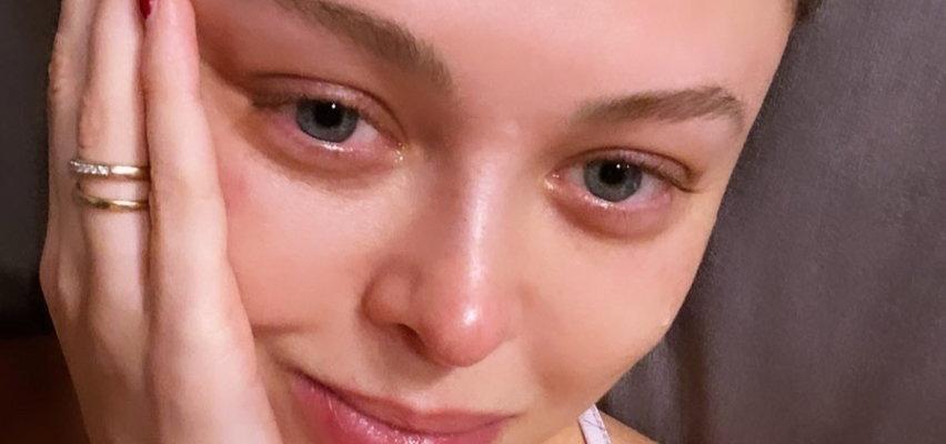Joanna Opozda kupiła pierwszy prezent swojemu dziecku. Wzruszenie sprawiło, że łzy stanęły jej w oczach
