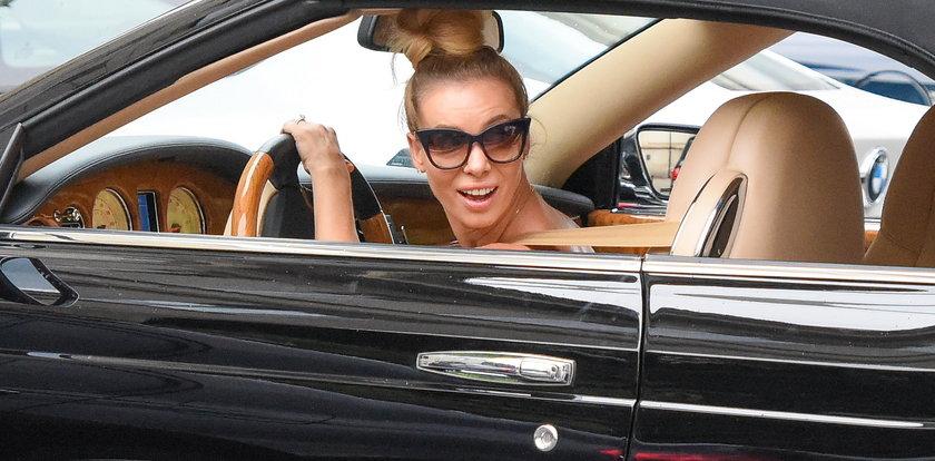 Izabela Janachowska otwiera biznes samochodowy