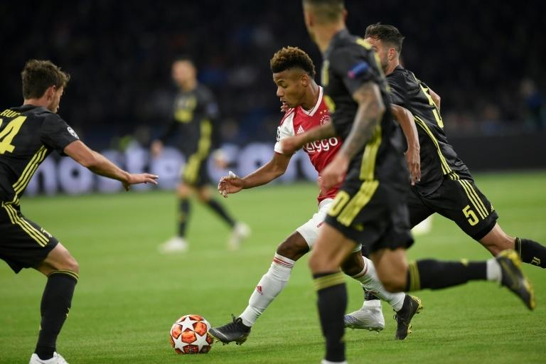 Neres gave the Juventus defence a tough time in the first leg