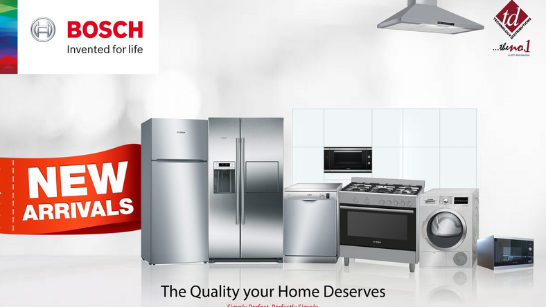 Bosch unveils wide array of home appliances for Nigerian market
