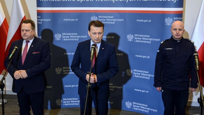 Jarosław Zielińsk, Mariusz Błaszczak i Jarosław Szymczyk