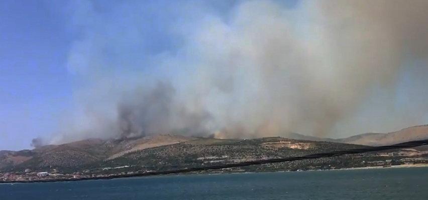 Pożar w Chorwacji. Przerażające zdjęcia i nagrania z okolic miejscowości Trogir