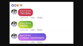 Facebook umożliwi umieszczanie komentarzy na kolorowym tle