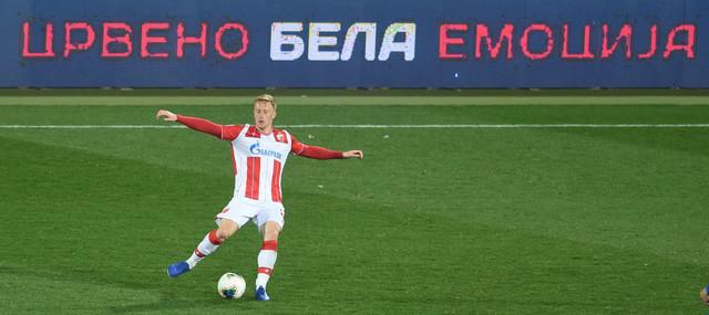 Detalj sa meča FK Crvena zvezda - Napredak