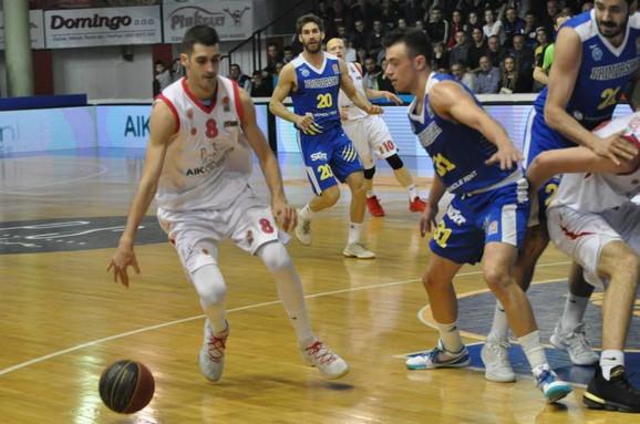 Detalj sa utakmice Borac - Primorska