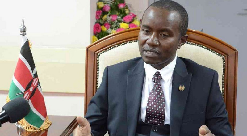 Outrage as CS Mucheru appoints dead man to plum gov't job