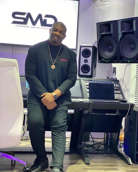 Even though he needs no introduction, the music mogul can be mistaken for a comedian because of the hilarious videos he shares on Instagram. [Instagram/DonJazzy]