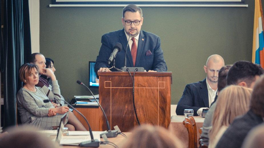 Łukasz Puźniecki, burmistrz Polkowic