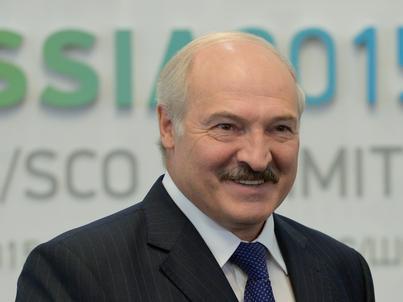 Alaksander Łukaszenka, prezydent Białorusi