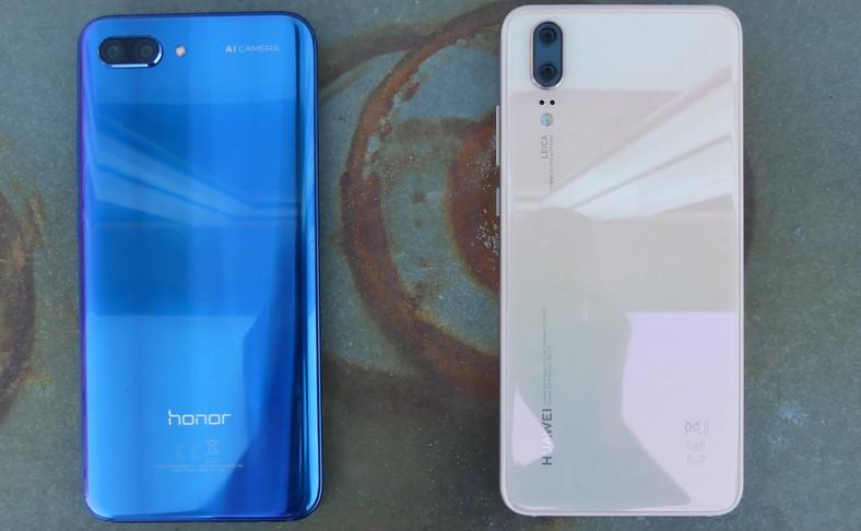 Honor 10 i Huawei P20